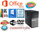 Fast Dell Optiplex Desktop PC Computer Core I5 8GB Windows PRO DVD WI-Fi OFFICE!