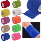 Multicolor Bandages Wraps Bands Adhesive First Aid Sports Tape Stretch Non-woven on eBay