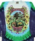 GRATEFUL DEAD-TERRAPIN STATION-LONG SLEEVE-2 SIDED TIE DYE TSHIRT M,L,XL,XXL SYF
