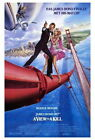 65866 A View To Kill Movie Roger Moore, Tanya Roberts FRAMED CANVAS PRINT AU $39.95 AUD on eBay