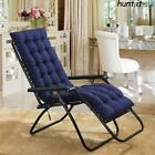 2Pcs Replacement Cushion Pad For Garden Sun Lounger Recliner / Chair Cotton Seat