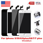 iPhone 7 5s 6 6s Addition Complete Screen LCD Replacement Digitizer Touch + Button