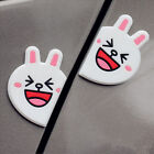 1 Pair Cute Car Styling Bear Cartoon Door Edge Scratch Guard Protector Rubber