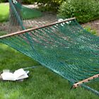 Island Bay XL Forest Green Rope Double Hammock