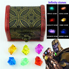 Marvel Avengers Endgame Infinity stones Set Of All 6 Gems Toy Cosplay Props New3