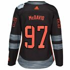 Connor McDavid NAmerica NHL Womens Black 16 World Cup of Hockey Premier Jersey
