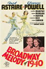 71554 Melody of 1940 Fred Astaire Eleanor Powell FRAMED CANVAS PRINT UK