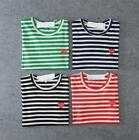 play attention for sale - Hot Sale Men's Tee Comme Des Garcons CDG Play Heart Eyes Design Stripe T-shirts