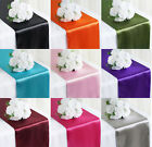12' x 108' Satin Table Runner Wedding Party Decoration Banquet Venue Décor
