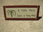 Wood Desk Signs - Wedge on Back - 31 different sayings