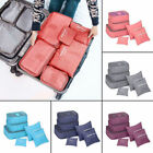 USSTOCK Travel Storage Bag Waterproof Clothes Packing Cube L