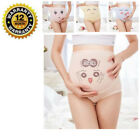 Внешний вид - Pregnant Panties High Waist Belly Support Cartoons Underwear Briefs For Women