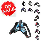 Large Dog Harness Adjustable Nylon No Pull Comfort Dog Walk Vest Collar Harness