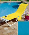Chaise Lounge Cover Large Pocket Poolside Chair Towels Pool Tote Bag Beach Spa .