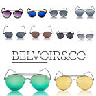 Mens Women Summer Sunglasses Belvoir&Co Unisex UV 400 Protection Cat Eye Elton