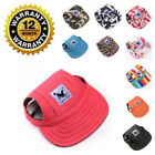 Внешний вид - Baseball Cap For Small Dogs Summer Outdoor Cute Pet Sun Visor Hat With Ear Holes
