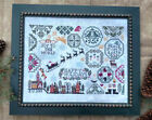 Holiday Quaker Sampler Lila's Studio Primitive Cross Stitch Pattern or Kit