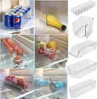 Space Saver Fridge Cupboard Drinks Can Egg Fruit Wine Storage Rack Box Tray
