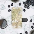 Vintage Map iPhone XS Nax Wallet Case iPhone XR Flip Cover World Map iPhone 7 8+