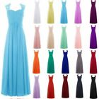 Sexy Lace Cap Sleeve Chiffon Bridesmaid Prom Dress Formal Evening Party Gown6-20