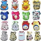 Puppy Dog Cat Shirt Tank Top Vest Sleeveless Clothes Apparel For SMALL Pet