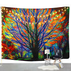 wall decor dorm - Colorful Tree Print Tapestry Wall Hanging Tapestry Art Festival Dorm Home Decor