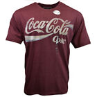 COCA COLA Mens Tee T Shirt M L XL XXL Red 1 Logo Vintage Graphic 100% Cotton NEW image