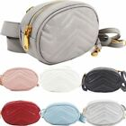 New Women's Fashion Bum Bag Shoulder Bag Quilted Elegant 2 in1 Hip Bag