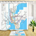 New York City Subway Map 70*70