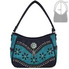 Tooled Leather Concealed Carry Purse Western Handbag Women Shoulder Bag Wallet