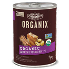 Castor and Pollux Organix Chicken & Potato Formula Canned Dog Food