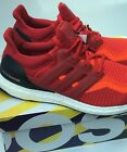 Adidas Ultra Boost M 2.0 Running Shoes AQ4006 Primeknit Red Gradient Brand New