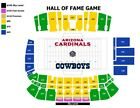4  NFL Pro Football Hall of Fame Game Tickets Chicago Bears vs Baltimore Ravens on eBay