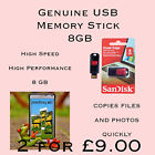 2 For £9 SanDisk 8 GB USB