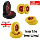 """Inner Tube Tyre Wheel Spare Replacement Sack Truck Wheelbarrow Solid Rubber 16"""""""