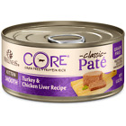 Wellness CORE Grain Free Natural Kitten Health Turkey and Chicken Smooth Pate Ca