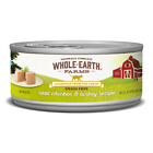 Whole Earth Farms Grain Free Real Chicken and Turkey Pate Canned Cat Food