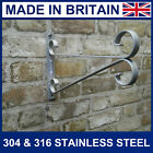 Stainless steel Hanging basket brackets up to 16 inch basket never rust