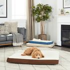 New Pet Orthopedic Bed Cushion Mat Pad for Dog Cat Kennel Crate Cozy Soft Foam
