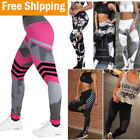 Women's Sports Running YOGA Workout Gym Fitness Leggings Pan
