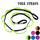 US Yoga Straps Gym Stretch Out Pilates Exercise Fitness Training Resistance Belt image