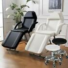 Portable Tattoo Spa Salon Facial Bed Beauty Massage Table Chair White / Black