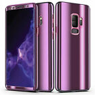 360° Plating Phone Case Slim Mirror Full Cover For Samsung Galaxy Note 9/S9/S8/7