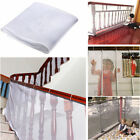 Внешний вид - Safety Child Railnet Net Pet Guard Baby Stair Balcony Deck Gate Dog Mesh Strict