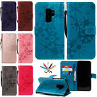 Magnetic Flip Leather Card Slot Stand Wallet Case Cover For Samsung Galaxy Phone
