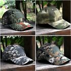 Sport Woodland Digital Camo Tactical Military Camouflage Patch Baseball Cap Hat