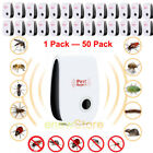 1-50Pack Ultrasonic Pest Repeller Repellent Rat Mouse Spider Control Easy to Use