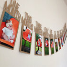 EP_ Kids Birthday Decorations 1-12 Month Photo Banner Monthly Photo Wall Decor G