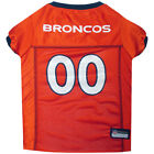 Denver Broncos Dog Jersey Free Shipping - NFL Pet Apparel XS-2XL