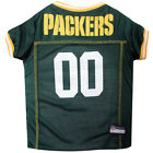 Green Bay Packers Dog Jersey Free Shipping - NFL Pet Apparel XS-2XL